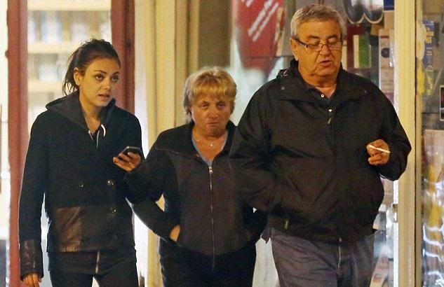 Mila Kunis Family Photos, Husband, Kids, Daughter, Height