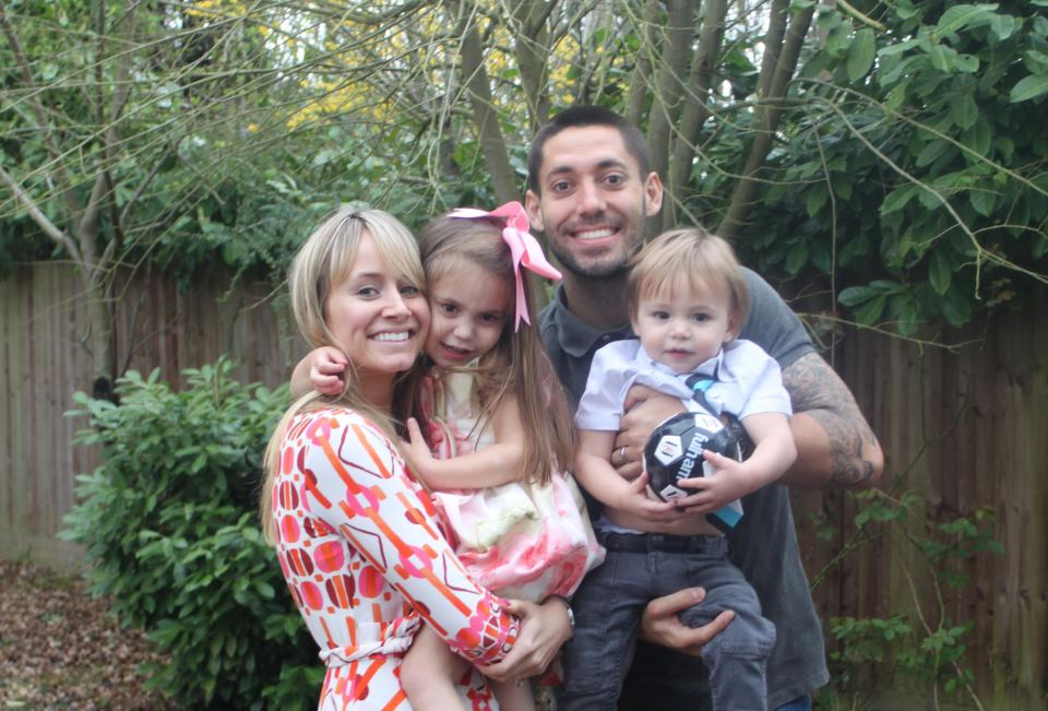 Clint Dempsey Family