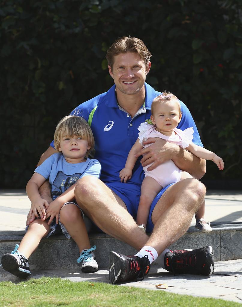 Shane Watson Son, Daughter
