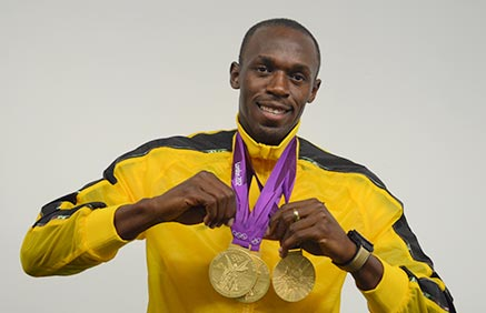 Usain Bolt Family Photos Wife Father Mom Height