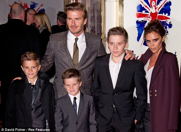 Image result for david-beckham-family-photos-wife-son-daughter-age-weight