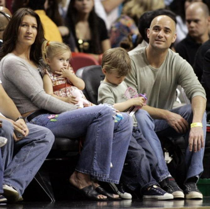 Andre Agassi Family Pictures, Father, Wife,  Height