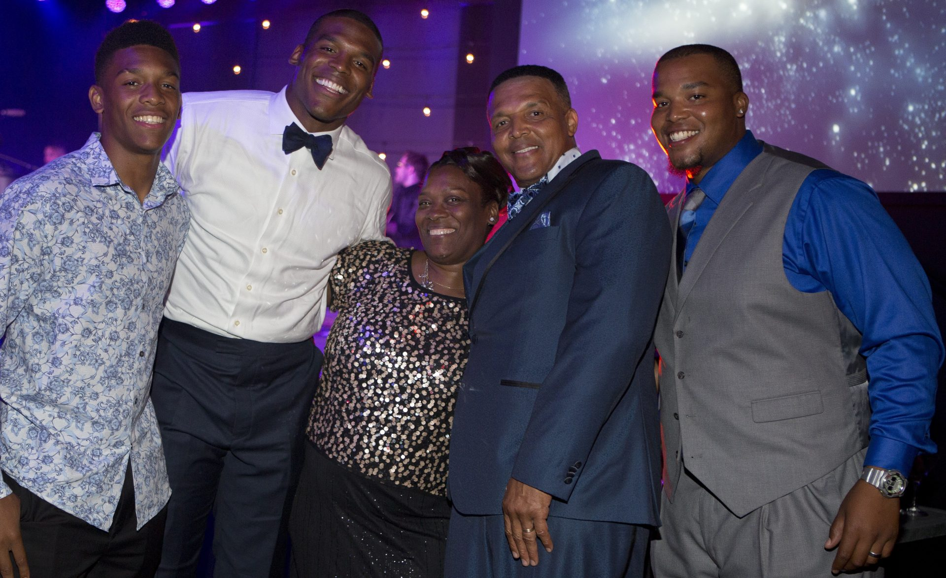 Cam Newton Family Photos, Son, Dad, Brother