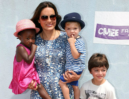 Mariska Hargitay Family Pics, Husband, Kids, Height