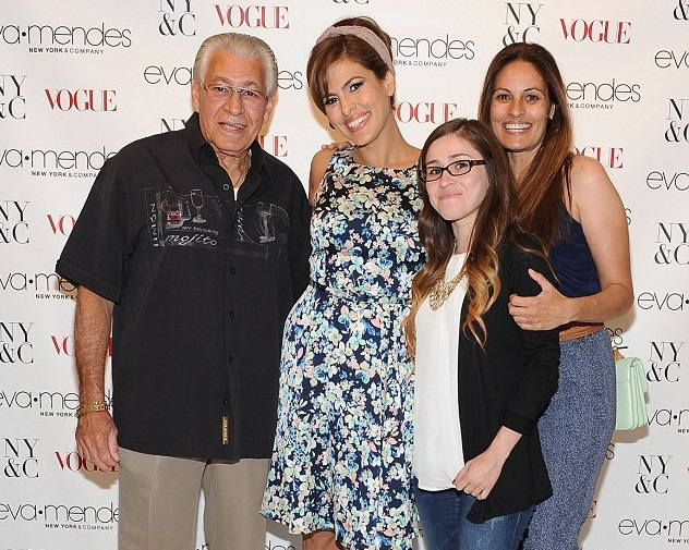 Eva Mendes Family Photos, Husband Name, Age