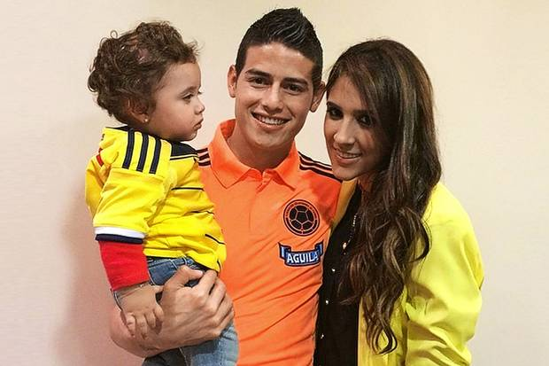 James Rodriguez Family Photos, Wife, Daughter, Age,  Parents