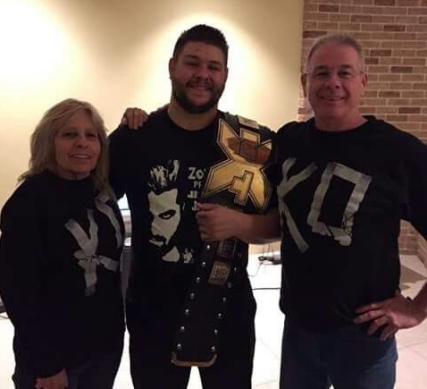Kevin Owens Family Photos, Wife, Son, Height,  Real Name