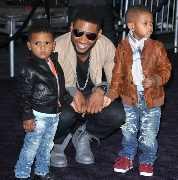 Usher Family Photos, Wife,  Kids, Net Worth