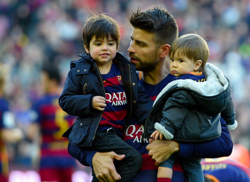 Gerard Pique family pictures, wife, Kids, Age, Height, Net Worth