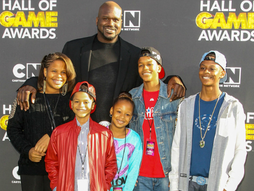 shaquille oneal family pictures wife son kids net worth