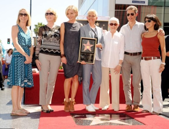 Ellen Degeneres Family Pictures, Partner, Height