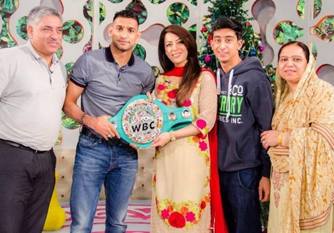 Amir Khan Boxer Wife And Family Photos, Age