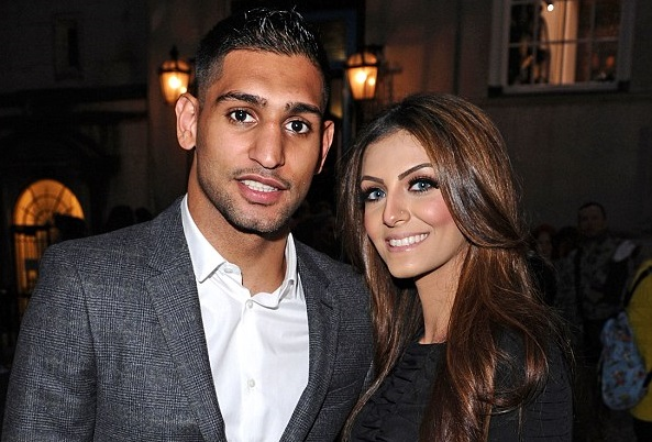 Amir Khan Boxer Wife And Family Photos, Height