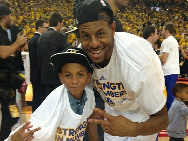 Andre Iguodala Wife, Son, Daughter, Father, Family Pictures
