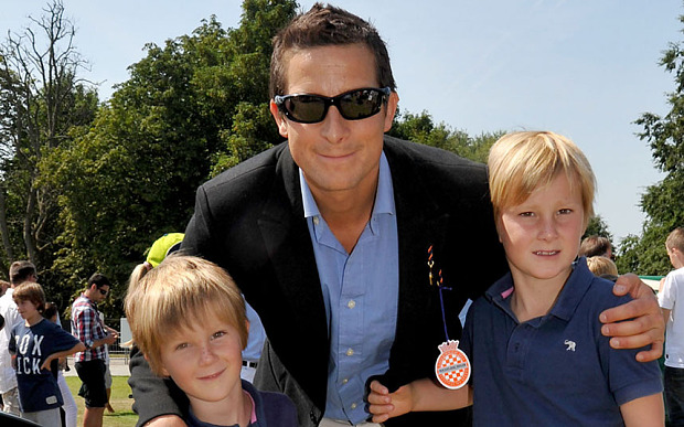 Bear Grylls Family Photos, Kids, Age, Height