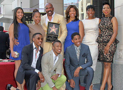 Steve Harvey Family Photos, Age, Kids, Son, Daughter