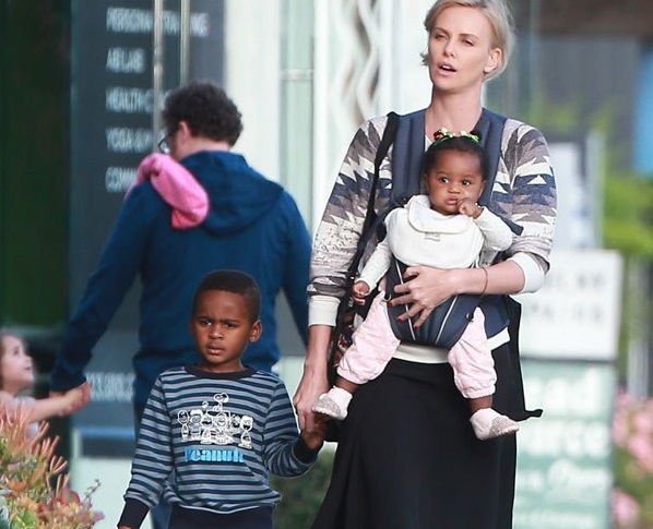 Charlize Theron Family Photos, Children, Age