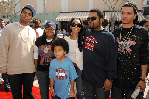 Ice Cube Family Pictures, Wife Kimberly Woodruff, Kids,