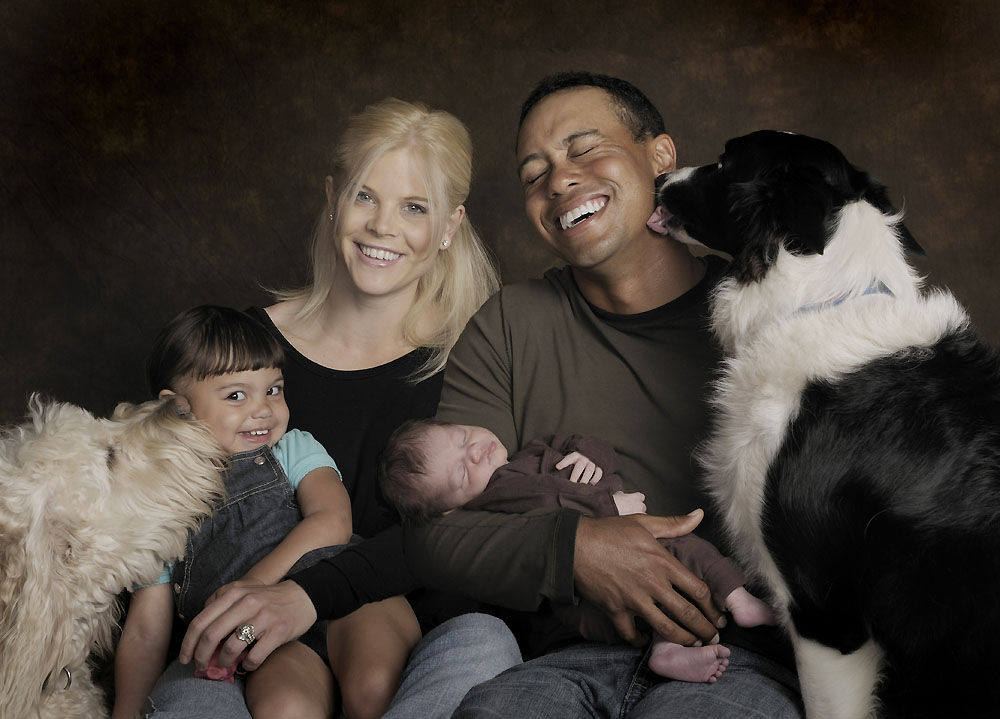 Tiger Woods Family Photos, Wife, Kids Son, Daughter
