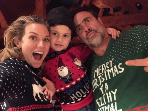 Jeffrey Dean Morgan Family Pictures, Wife, Children