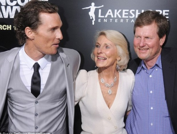 Matthew Mcconaughey Wife And Family Photos, Age