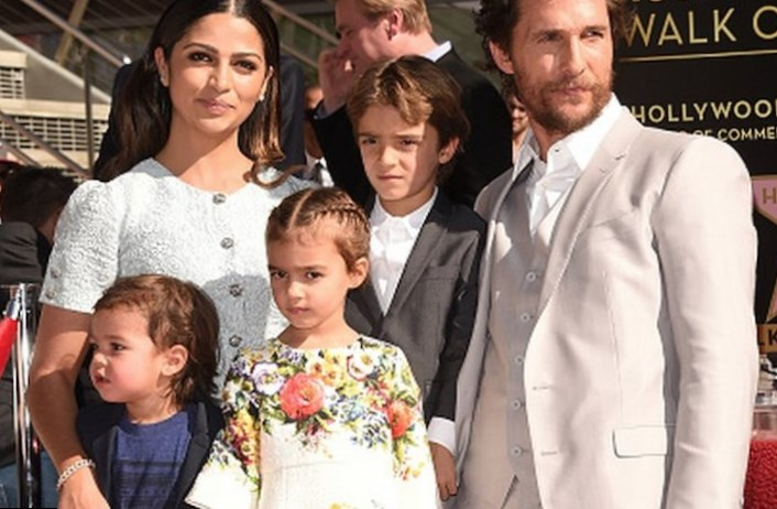 Matthew Mcconaughey Wife And Kids, Family Photos,