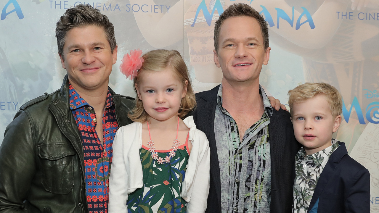 Neil Patrick Harris Family Photos, Husband, Kids