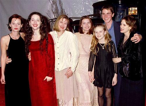 Winona Ryder Family Pi...