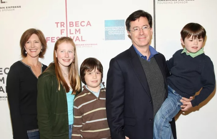 Stephen Colbert Family Pictures, Father, Son, Daughter, Age, Height