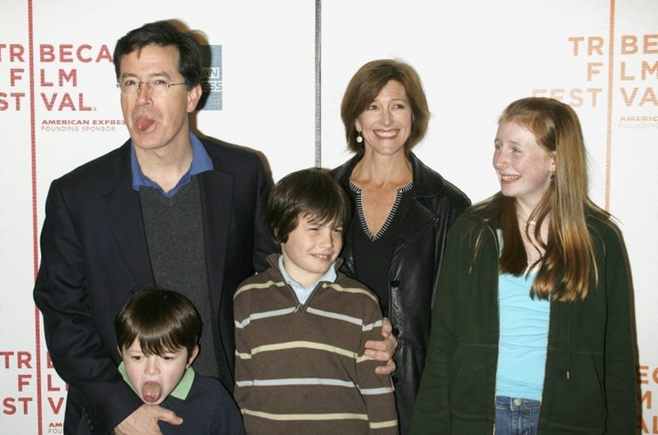 Stephen Colbert Family Pictures, Wife, Father, Son, Age, Height
