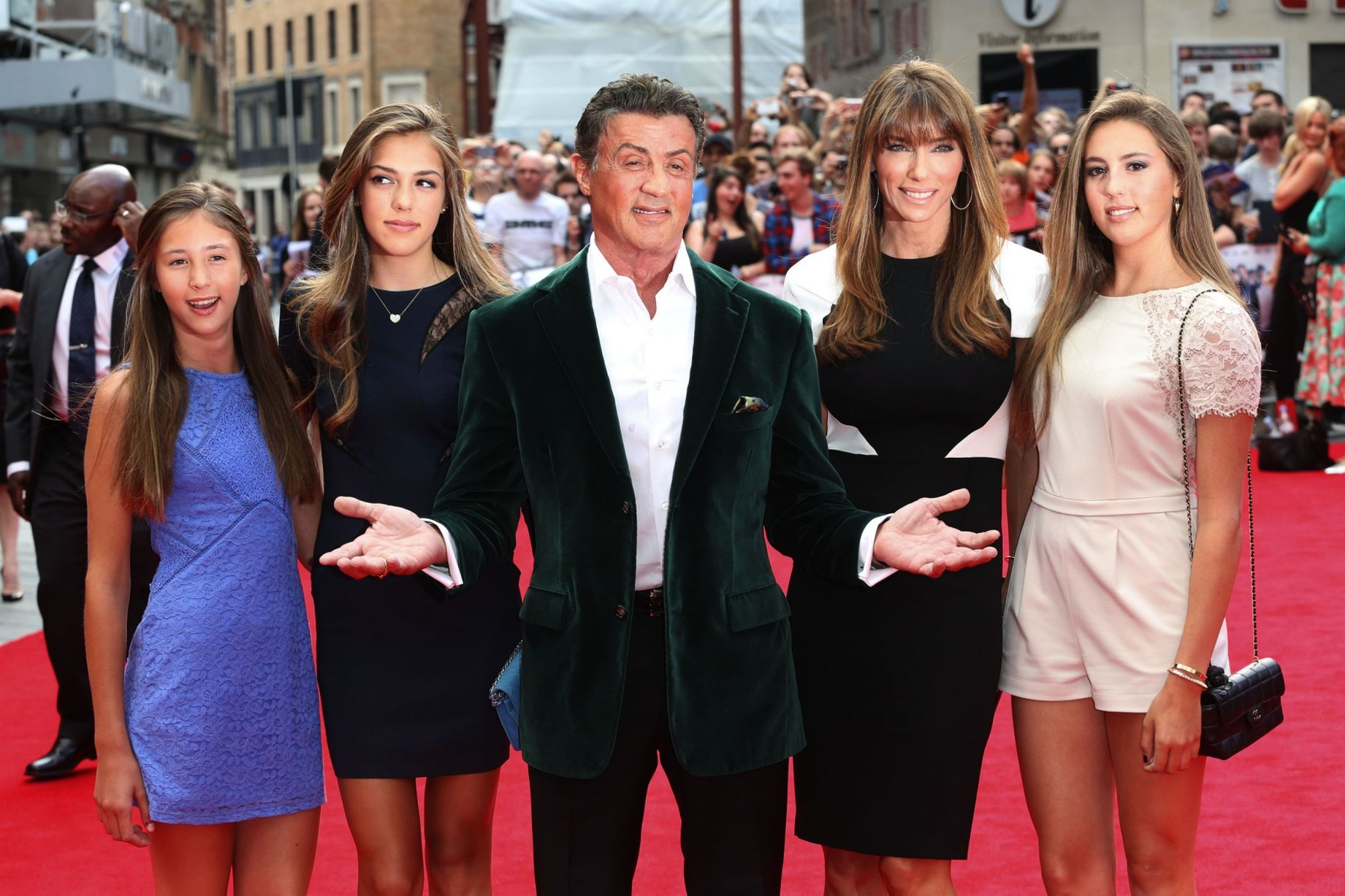 Sylvester Stallone Family Photos, Wife, Son, Father, Age, Net Worth