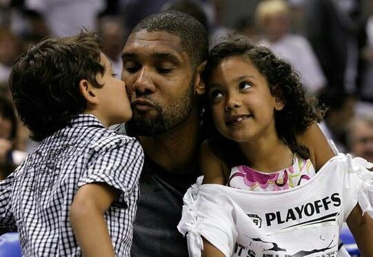 Tim Duncan Family Pics, Kids, Age, Height
