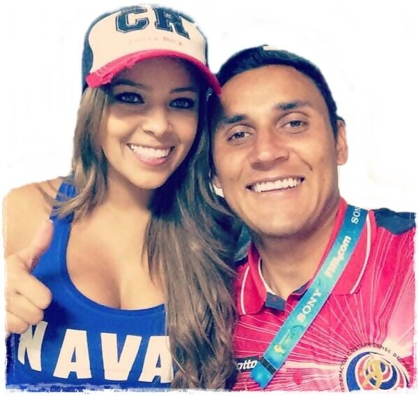 Keylor Navas Family Photos, Wife, Daughter, Age, Height