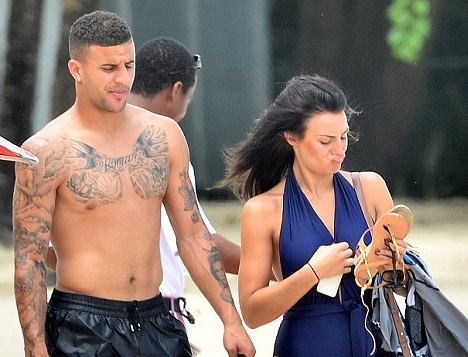 Kyle Walker Wife, Son, Siblings, Parents, Mother