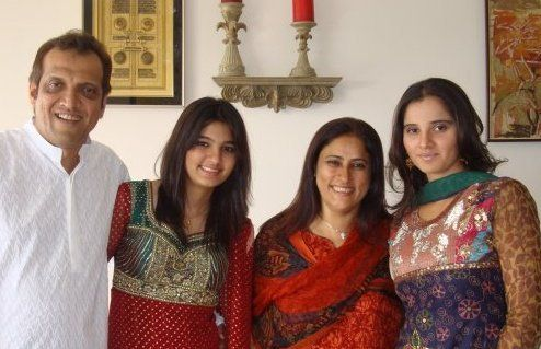 Sania Mirza Family Photos, Husband, Sister, Father, Mother, Age, Net Worth