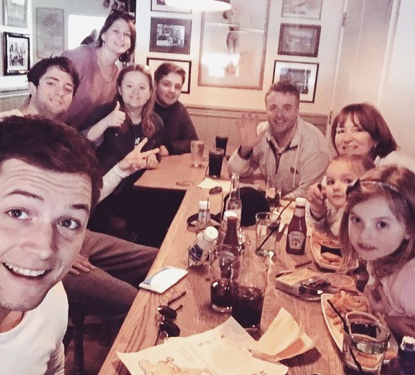 Taron Egerton Family Photos, Wife, Siblings, Net Worth