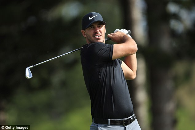 a pure golf talent Brooks Koepka