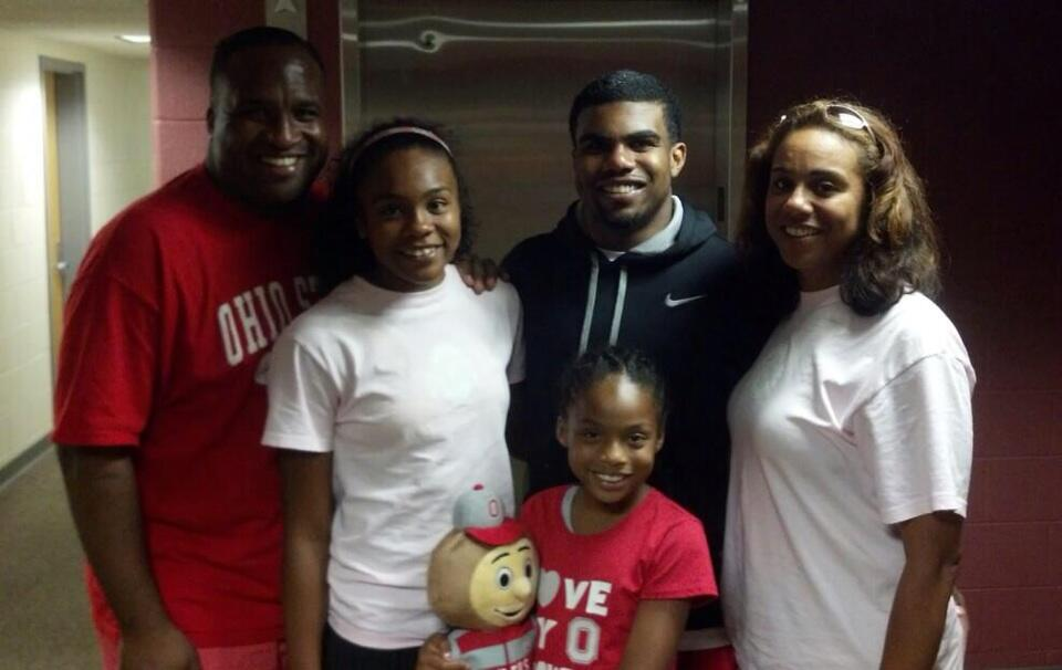 Ezekiel Elliott Family